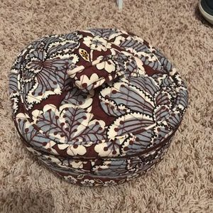 Vera Bradley Brown Floral Bag